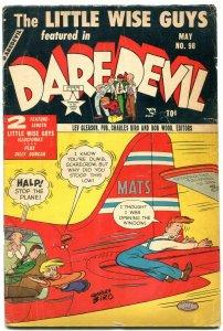 Daredevil #98 1953-Lev Gleason- Charles Biro- Little Wise Guys VG-