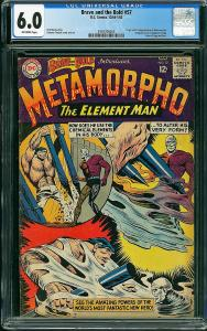 Brave and the Bold #57 (Dc, 1964) CGC 6.0 - KEY