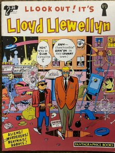 LLOYD LLEWELLYN #1 (Fantagraphics,4/1986) FINE-VERY FINE (F-VF) Dan Clowes!