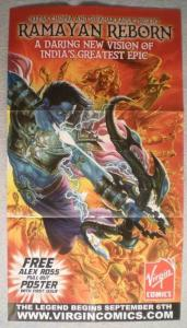 RAMAYAN REBORN Promo Poster, 16x30, 2006, Unused, more Promos in store