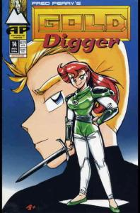 Gold Digger (2nd Series) #14 VF; Antarctic | save on shipping - details inside