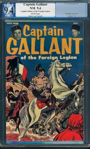Captain Gallant #nn (U.S. Pictoral, 1955) PGX 9.4