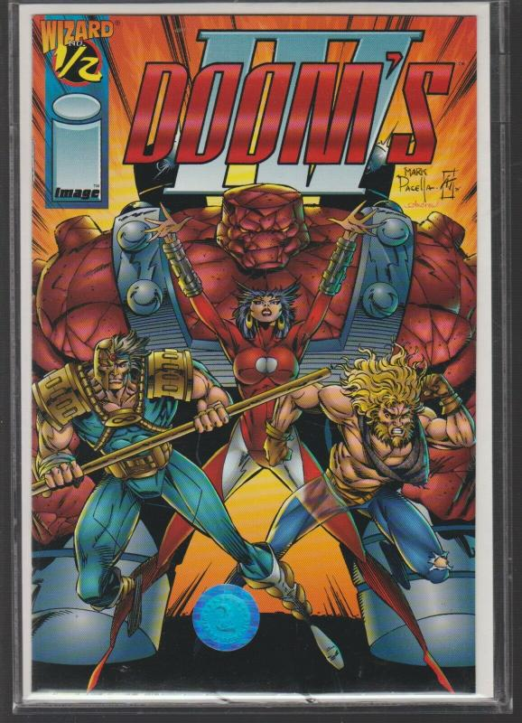 DOOMS 4 - ISSUE #1/2 WIZARD / IMAGE COMICS - N/M W/C.O.A.