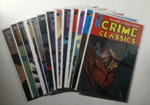 Crime Classics 1 2 3 4 5 6 7 8 9 10 11 12 13 Lot Run Set Near Mint- 9.2 Eternity