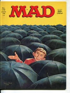 Mad-Magazine-#175-June-1975-Mort Drucker-Don Martin-David Berg-VF