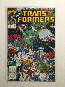 Transformers 41 Near Mint Nm Marvel