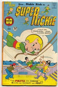 Super Richie #5 1976- Harvey Comics Richie Rich FN