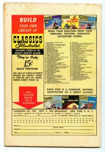 Classics Illustrated 94 (Original) Apr 1952 VG+ (4.5)