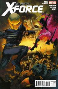 Uncanny X-Force #21 VF; Marvel | save on shipping - details inside