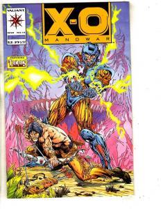 X-O Manowar # 14 NM 1st Print Valiant Comic Book Turok Layton Art Cover SS9