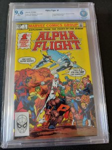 ALPHA FLIGHT #1 CBCS 9.6