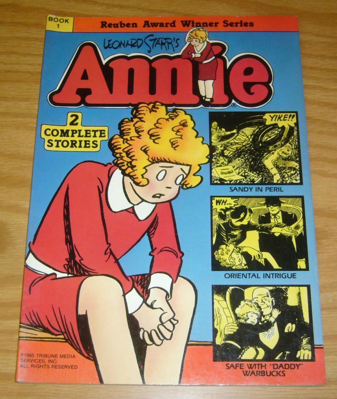 Leonard Starr's Little Orphan Annie Book 1 VF/NM blackthorne graphic novel 1985