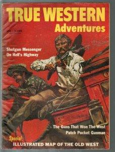 True Western Adventures 4/1959-Frank McCarthy-Annie Oakley-Sam Colt-FR