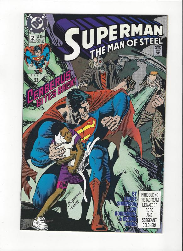 Superman: Man Of Steel # 2(1991) DC Comics NM