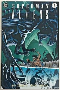 SUPERMAN VS ALIENS#3 NM 1995 DARK HORSE/DC COMICS