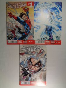 Amazing Spider-Man #1 2 3 1st Appearance Cindy Moon Marvel 2014