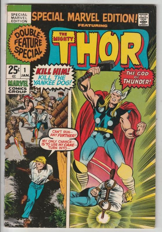 Thor, Special Marvel Edition #1 (Jan-71) NM- High-Grade Thor, Odin