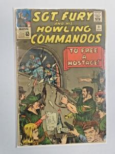 Sgt Fury and his Howling Commandos #21 To Free a Hostage! 3.0 (1965)