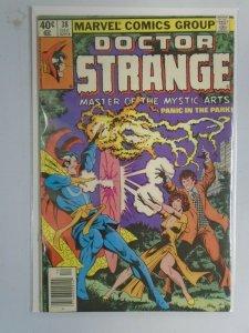 Doctor Strange #38 Newsstand edition 5.0 VG FN (1979 2nd Series)