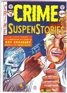 EC Classics Crime Suspense Stories #8 (Jan-87) NM+ Super-High-Grade