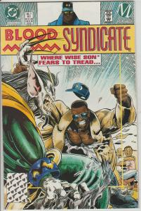 BLOOD SYNDICATE #7 - DC COMICS - BAGGED & BOARDED