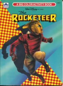 Rocketeer Color Activity Book #2968-1 1980's-Gordon-Dave Stevens-VF