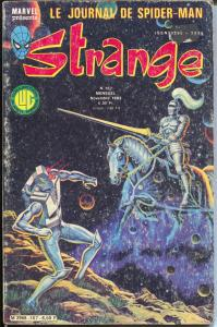 Strange #167 1983-Marvel-Iron Man-Daredevil-Spider-man-VG