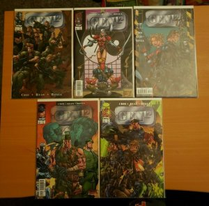 Gen 12 1-5 Complete Set Run! ~ NEAR MINT NM ~ 1998 Image Comics