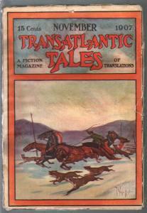 Transatlantic Tales 11/1950-Ess Ess-foreign pulp fiction-wolf attack-VG