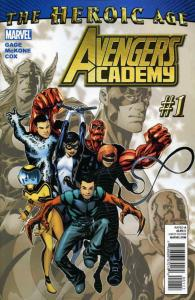 Avengers Academy #1 VF/NM; Marvel | save on shipping - details inside