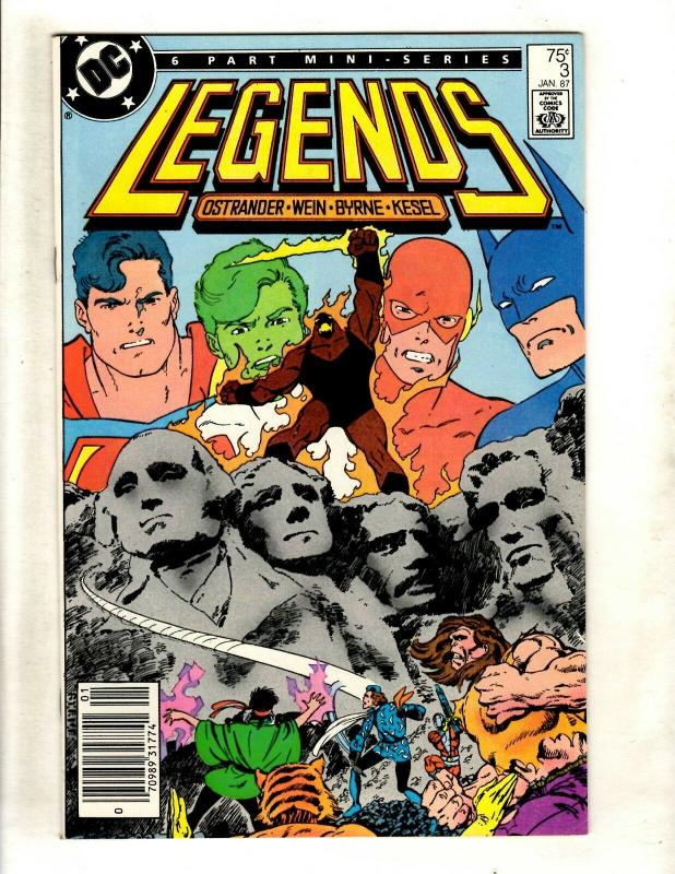 Legends # 3 NM- DC Comic Book Suicide Squad Appearance Batman Superman Flash WS9
