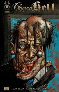 CHURCH of HELL #1, NM-, Simon Bisley, Alan Grant, 2009, Horror