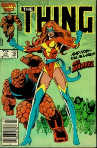 The Thing #35 - VF/NM - 1st Appearance Sharon Ventura as Ms. Marvel II