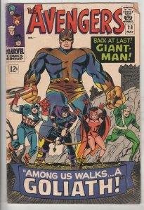Avengers, The #28 (May-66) VG/FN Mid-Grade Avengers