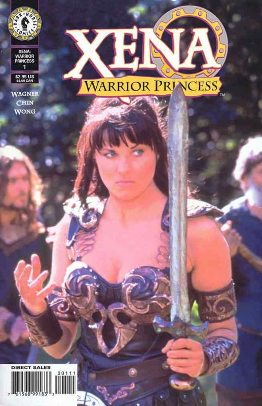Xena: Warrior Princess (Dark Horse) #1SC VF/NM; Dark Horse | save on shipping -
