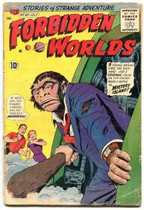 Forbidden Worlds #80 1959-NEANDERTHAL cover- CC Beck F/G