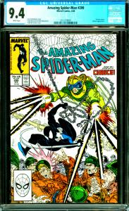 Amazing Spider-Man #299 CGC Graded 9.4 Venom Cameo & Chance Appearance