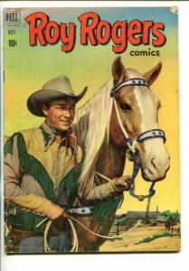 ROY ROGERS #47-1951-WESTERN-PHOTO COVERS-TRIGGER-BULLET-vg