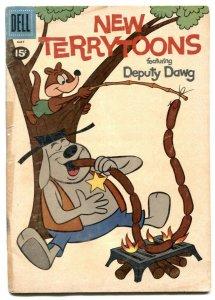 New Terrytoons #4 1961- DEPUTY DAWG- Dell comics F/G