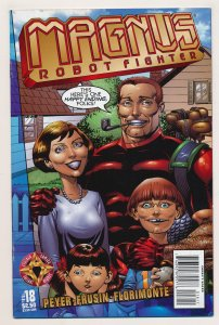 Magnus Robot Fighter (1997 Acclaim) #18 VF Last issue of the series