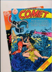 Red Circle Comics COMET #1,2 ~ VF 1983 (PF13)