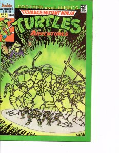 Archie Comics (1989) Teenage Mutant Ninja Turtles Adventures #3 1st Print