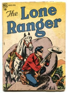 Lone Ranger #2 1948- Dell Golden Age Western comic G+