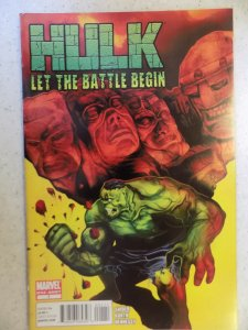 Hulk: Let The Battle Begin #1 (2010)