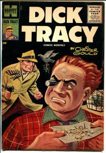 Dick Tracy  #99 1956-painted cover-Chester Gould-FN