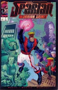 Spartan: Warrior Spirit #1, NM (Stock photo)