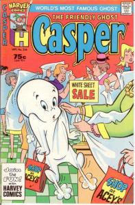 CASPER  (1958-    ) 236 VF-NM Sept. 1987 COMICS BOOK