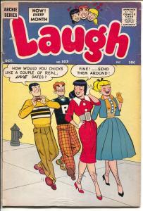 Laugh #103 1959-Archie-Betty-Veronica-Katy Keene-paper dolls-VG