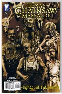 TEXAS CHAINSAW MASSACRE #2, NM+, Bloody Mess, Horror, 2007, more Horror in store