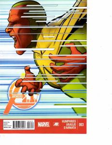 Lot Of 2 Comic Books Marvel Avengers A1 #3 and #4  ON10